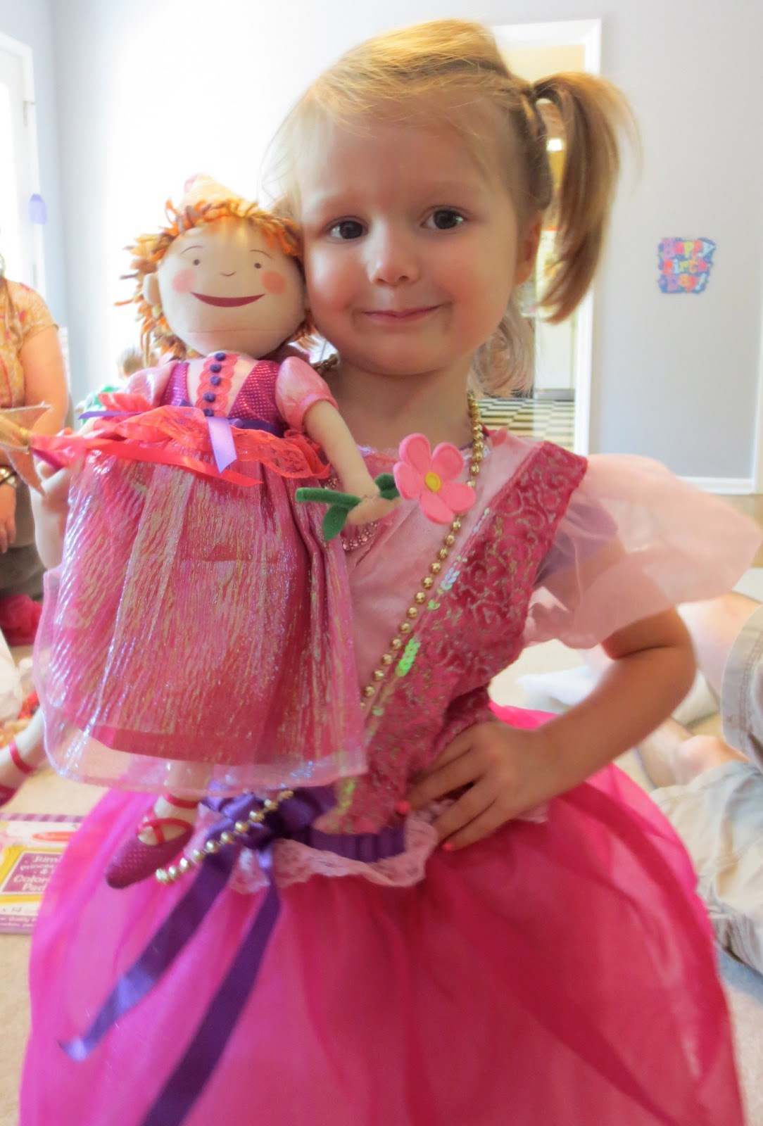 Legos And Baby Dolls Es Pinkalicious Princess Party