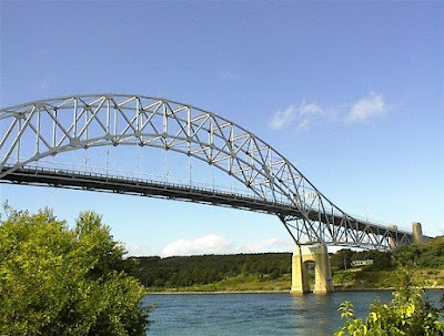 Sagamore Bridge and Cape Cod Canal