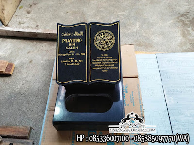 Harga Maisan Kuburan, Nisan Granit Muslim, Nisan Kuburan Granit