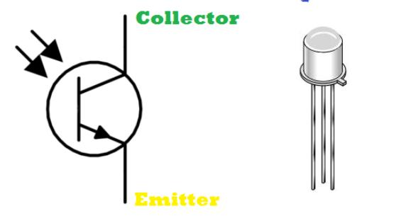 الترانزستور الضوئي Phototransistor