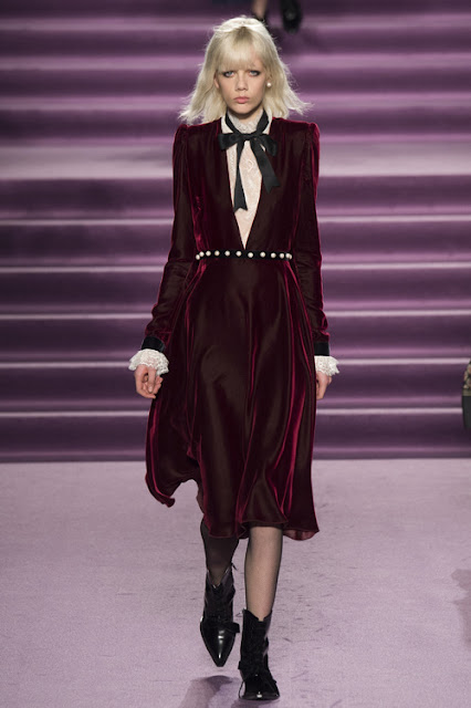 abito velluto tendenza velluto autunno inverno 2016 2017 velvet trend f/w 2016 2017 fashion moda colorblock by felym fashion blog italiani fashion blogger italiane blogger italiane di moda fashion bloggers italy winter 2017 trend