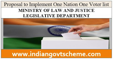 ONE NATION ONE VOTER LIST
