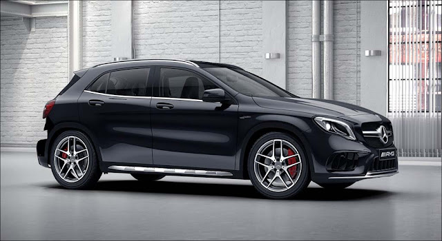 Đánh giá Mercedes AMG GLA 45 4MATIC 2021