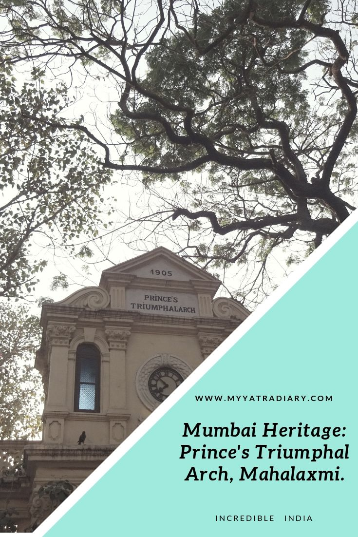 Mumbai Undiscovered - Prince's Triumphal Arch Heritage Clock Tower at Mahalaxmi