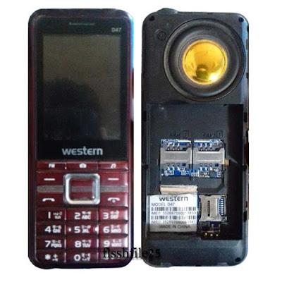 Westrn D47 flash file 6531e update