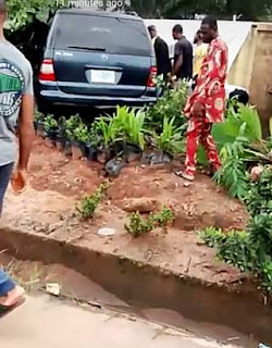 BREAKING : Ghastly Car Accident Claims Lives of 2 People at Government College Road Owerri
