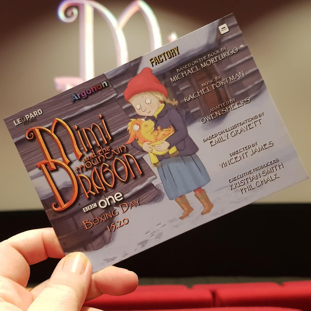 Mimi And The Mountain  Dragon BBC One animated film reviw