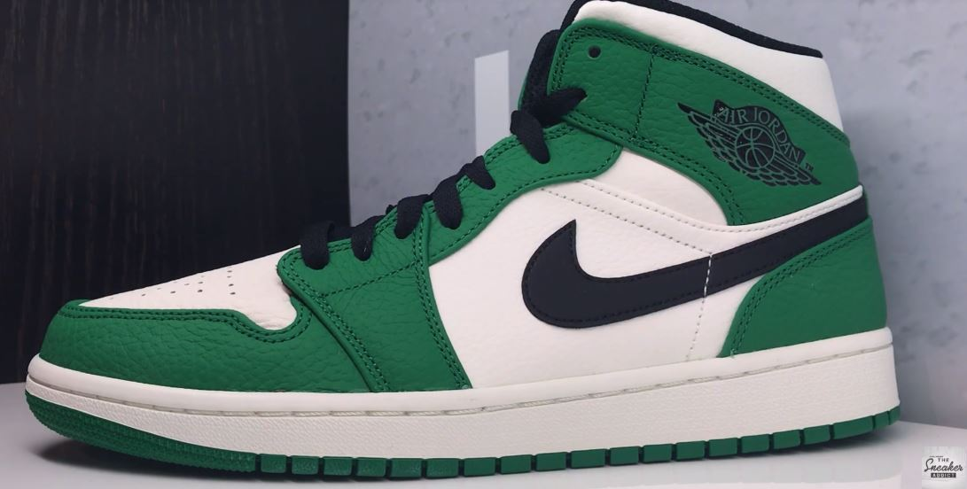 size 40 15c1d 6f236 Air Jordan 1 Mid SE Pine Green Retro Sneaker (Detailed Look + Where to Find)