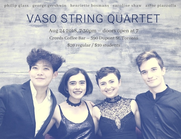 India Yeshe Gailey - Vaso String Quartet