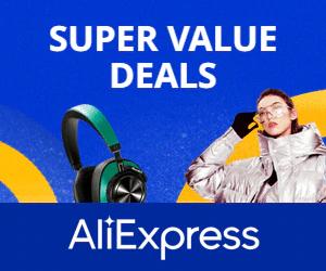 إعلان Aliexpress