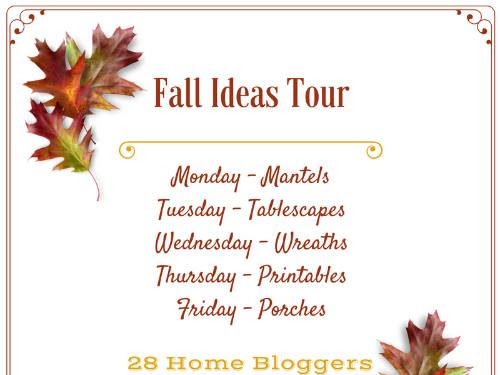 Fall Ideas Tour 2016: A week of Fall decorating inspiration
