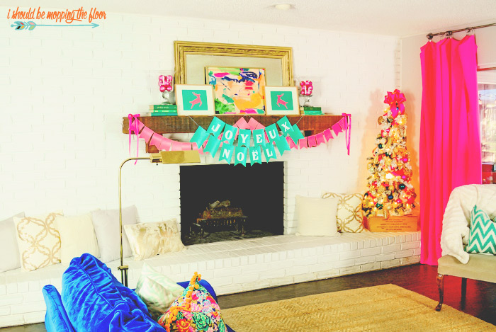 Hot Pink Christmas Decor