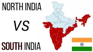 What is the difference between North and South India?