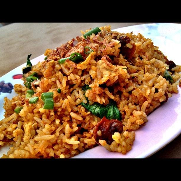 resepi nasi goreng kerang