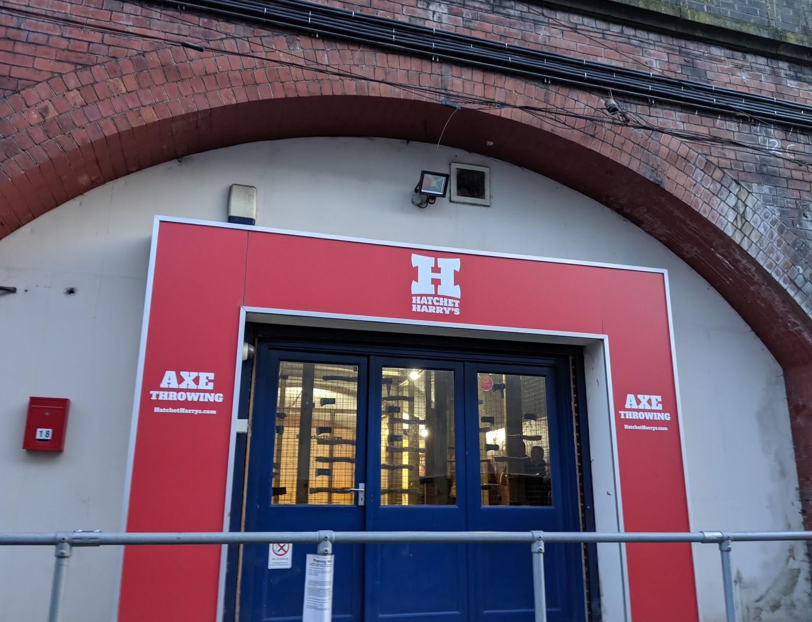 Indoor Axe Throwing in Newcastle at Hatchet Harry's  (Review) - exteriror