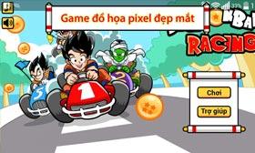 Game racing goku