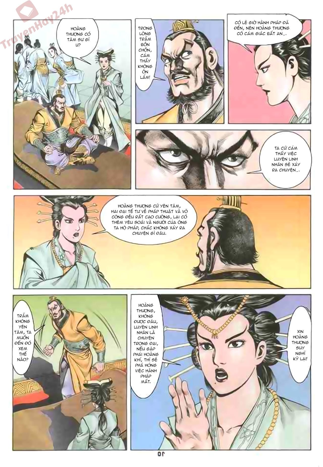 Cơ Phát Khai Chu Bản chapter 79 trang 10