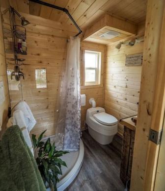 desain kamar mandi nuansa kayu - dekorasi rumah