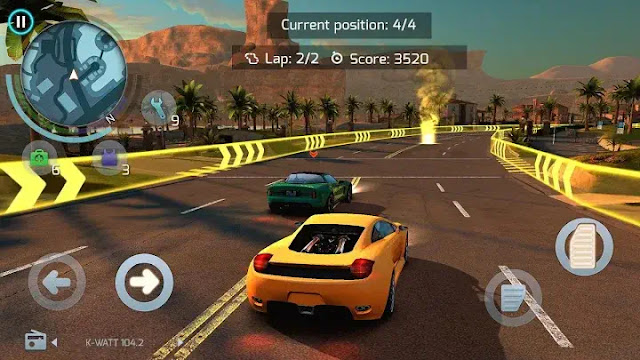 Racing Cars from Gangster Vegas