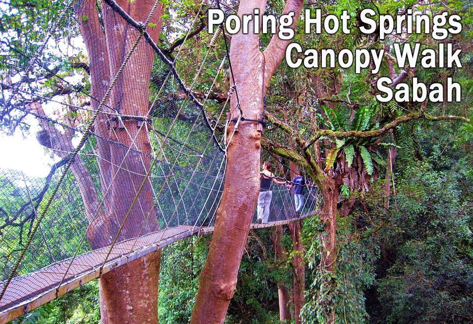 Poring Canopy Walk in Sabah