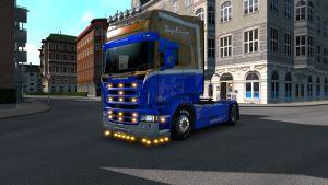 Road Paradise skin for Scania RJL