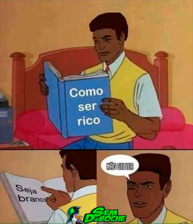HUMOR NEGRO #59 - COMO SER RICO
