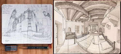 00-Luis-Gómez-Feliu-Elucubros-Urban-Sketches-and-Interior-Architectural-Drawings-www-designstack-co