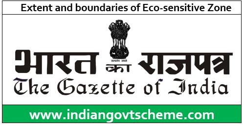 Extent and boundaries of Eco-sensitive Zone