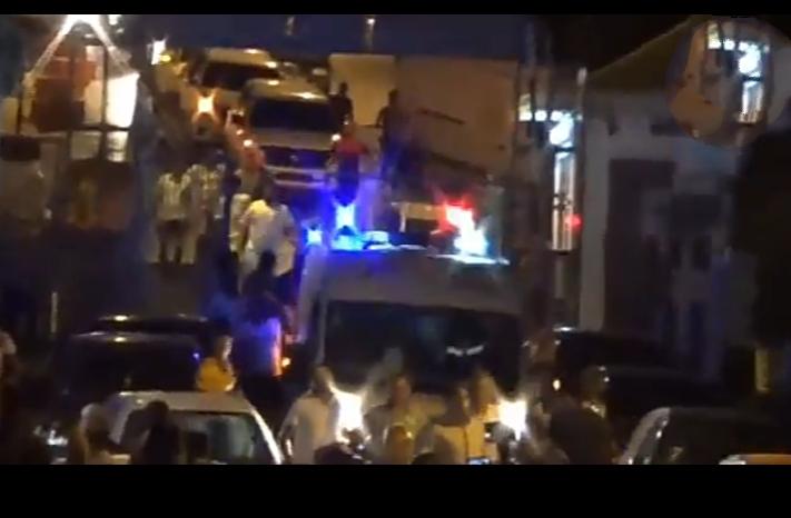 لحظات موثرة مع وصول الرضيع يوسف لمستشفى وسيلة بورقيبة (فيديو)