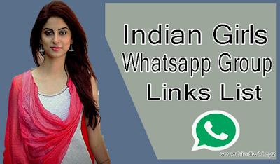 Indian Girls Whatsapp Group Links List