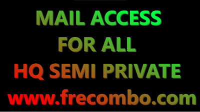 36.000 MAIL ACCESS FOR ALL HQ SEMI PRIVATE USA WORLD WIDE FOR ALL [ GAMING , STREAMIN