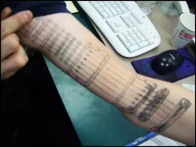 Bewitching Musical Forearm Tattoos Cool Forearm Tattoos For Men