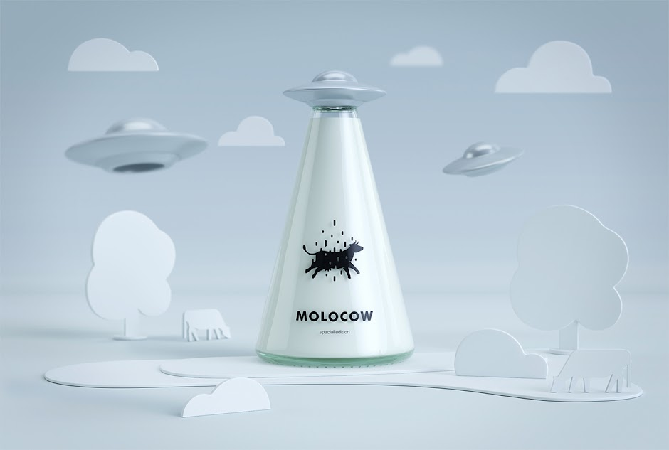 Molocow Concept Milk Package design