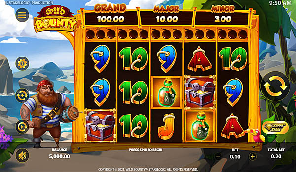 Main Gratis Slot Indonesia - Wild Bounty Stakelogic