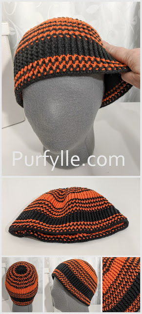 Crochet Beanie With Stretch