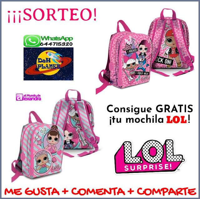 mochila LOL