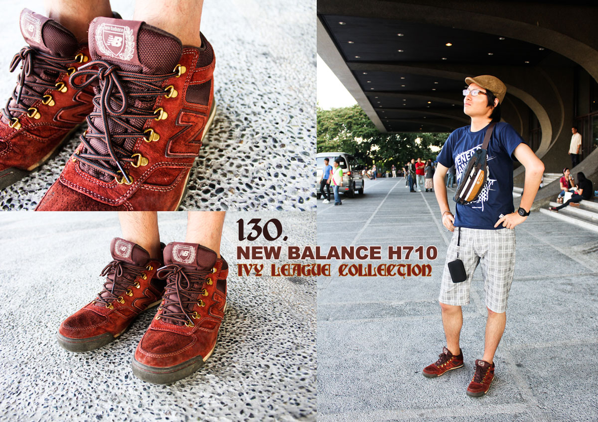 outlet store fd779 9e677 New Balance H710 Ivy League Collection