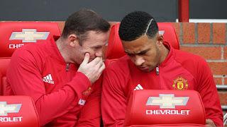 Rooney dan Memphis Depay Diminati Inter Milan dan AS Roma