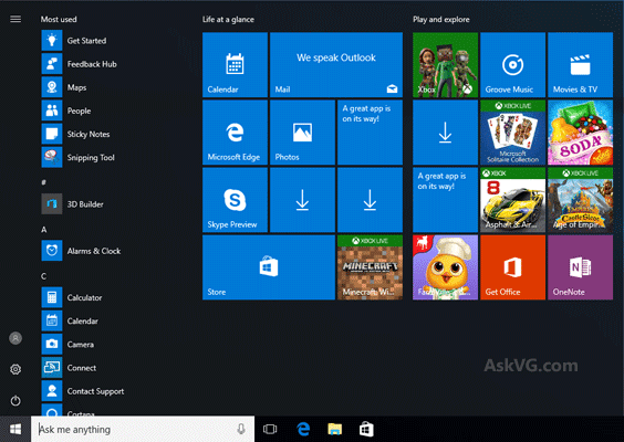 Windows 10 Disable windows menu