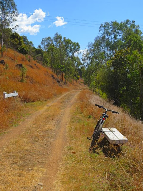 Brisbane Valley Rail Trail near Moore