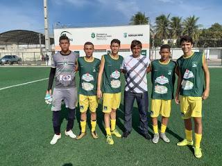 Cinco atletas da E.F. Liberal de Patos disputarão o Cearense Sub 17 pelo Atlético-CE