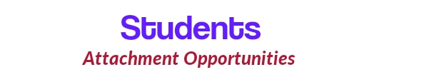 Students attachment opportunities
