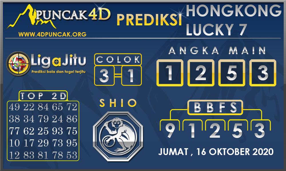PREDIKSI TOGEL HONGKONG LUCKY7 PUNCAK4D 17 OKTOBER 2020