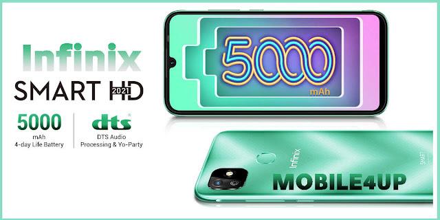 إطلاق Infinix Smart HD 2021 رسميًا في الخارج - أرخص هاتف  لشركة Infinix