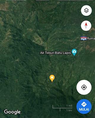 Lokasi perkebunan kopi robusta Tanggamus