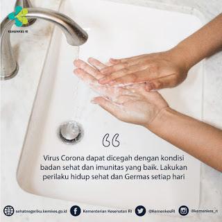 Cuci tangan dengan sabun