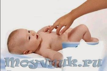 Массаж новорожденного, фото