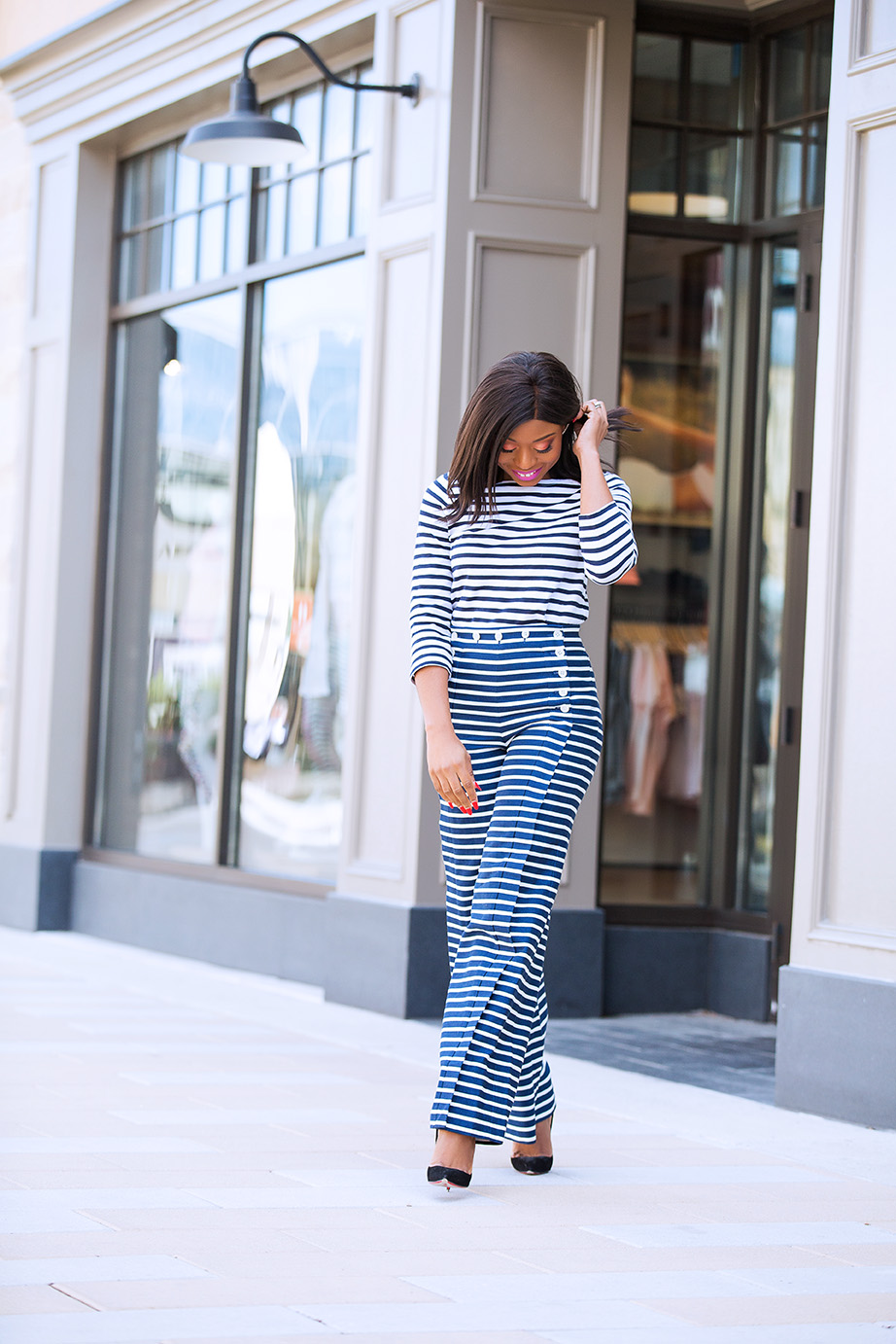 Striped sailor pant, www.jadore-fashion.com