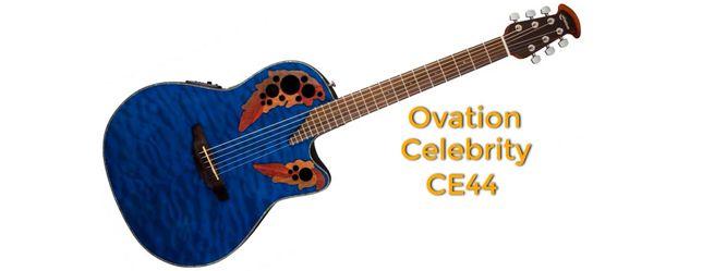 Guitarra Roundback Ovation Celebrity CE44