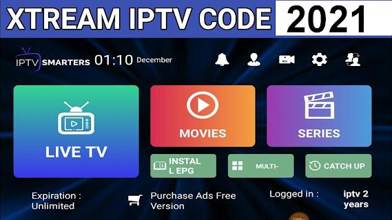 Iptv Xtream Codes Account Login Free 2021